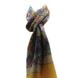 Zomer sjaal geel