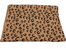 Tijger sjaal bruin
