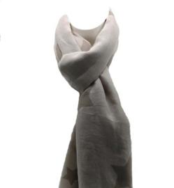 Sterren  sjaal beige