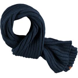 Heren sjaal blauw