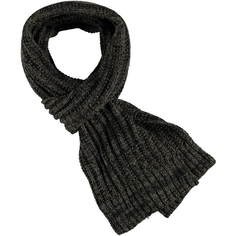 Heren sjaal khaki