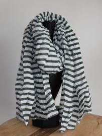 Sjaal streep Groen