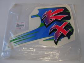 KX125-J1 / KX250-J1, 1992 Pattern, Shroud, RH nos