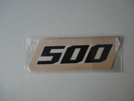 GPZ500S-A4/A5/A6/A7 Pattern Mark, 500 nos