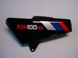 KH100-G8, 1987 Cover - Side, LH, Ebony nos