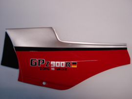 GPZ900-A2, 1985 Cover - Side, LH, Black / Red / Silver nos
