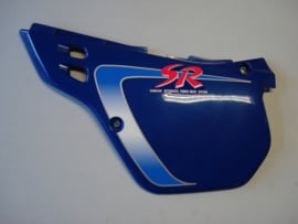 KDX125-A2/B2, 1991 Cover - Side, LH, Blue 24 nos