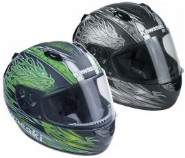 Kawasaki Dragon Helm Groen.