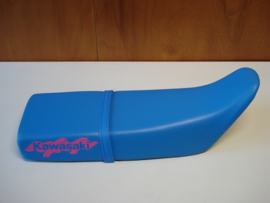 KMX125-A5/A6/A7 & B6/B7, 1990 - 1993 Seat - Assy, Dual, W/Band, Blue