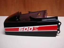 EX500-A1, 1987 Cover, Seat, Ebony nos