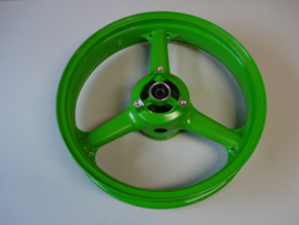 KR250-B2, 1989 Wheel-Assy, RR, L.Green nos