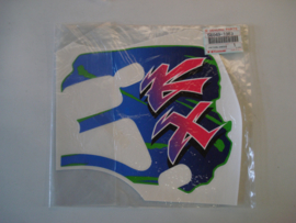 KX500-E4, 1992 Pattern Shroud, RH nos