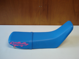 KDX125-A1, 1990 Seat - Assy, Dual, W/Band, Blue nos