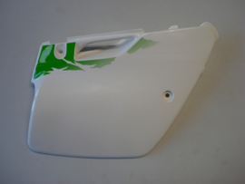 KX125 / KX250-K1, 1994 Cover - Side, RH, P.White nos