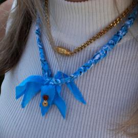 BANDANA NECKLACE | BABY BLUE