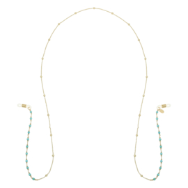 Sunny Cord - Turquoise - gold