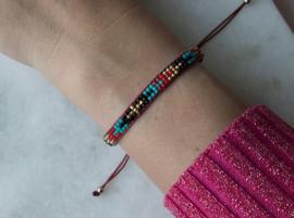 Beads Bracelet - Red