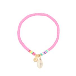 Summer Surf Bracelet - Shell - Pink
