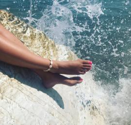 Shell Anklet - Beige