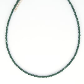 Crystal Necklace - Green