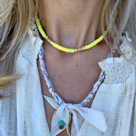 SURF NECKLACE | YELLOW
