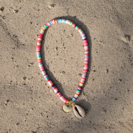 Surf Anklet - Shell - multicolor