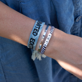 Letter Bracelet - Vierkant - CUSTOMIZED