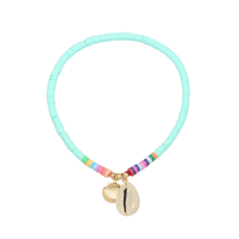Surf Anklet - Shell - blue