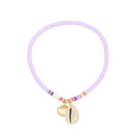 Surf Anklet - Shell - purple