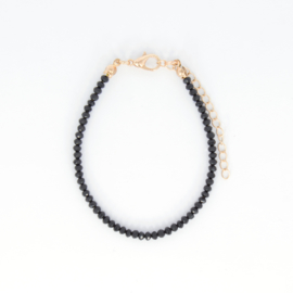 Crystal Bracelet - Black