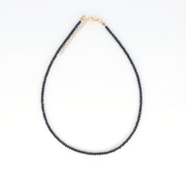 Crystal Necklace - Black