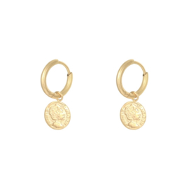 EARRINGS | COIN | RVS GOLD