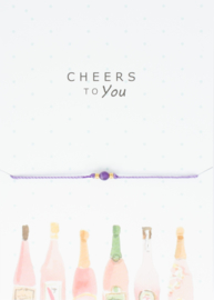 Wish Bracelet - Cheers to you