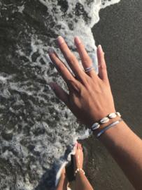 Shell Bracelet - black