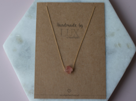 Short Necklace - Clover - gold plated
