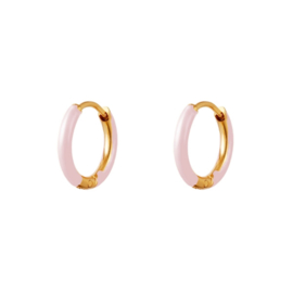 EARRINGS | PINK | RVS GOLD
