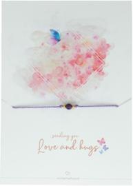 WISH BRACELET   SENDING YOU LOVE AND HUGS