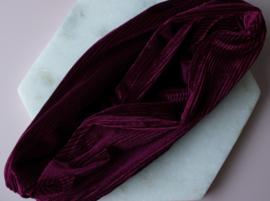 Haarband - Bordeaux rood