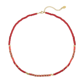 Necklace - Rubber Beads 2