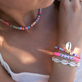 Surf Necklace + Bracelet - multicolor