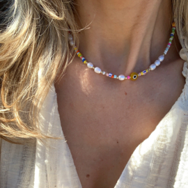 HAPPY PEARLS NECKLACE | RVS GOLD