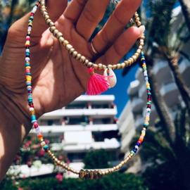 Beads Anklet - Shell/ Tassel