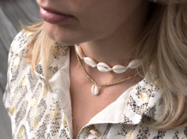 Shell Necklace - Beige
