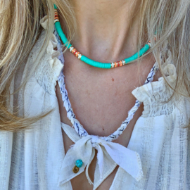 SURF NECKLACE | TURQUOISE
