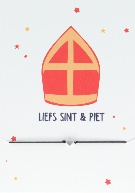 Wish Bracelet - Liefs Sint & Piet