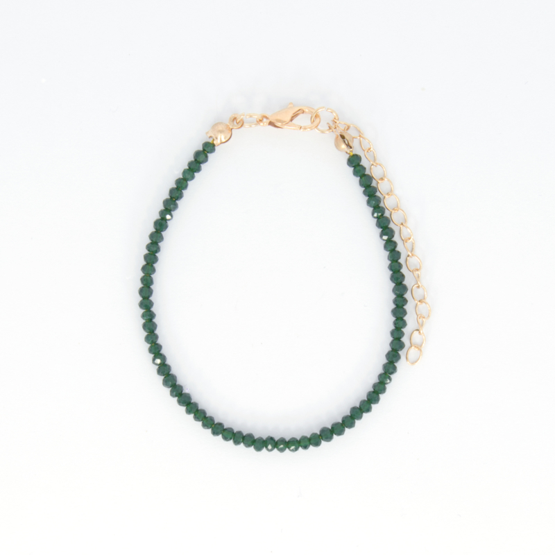 Crystal Bracelet - Green