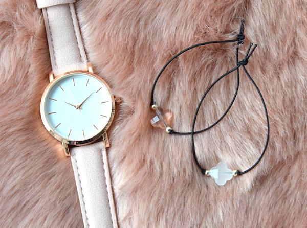 Clover Bracelet - White