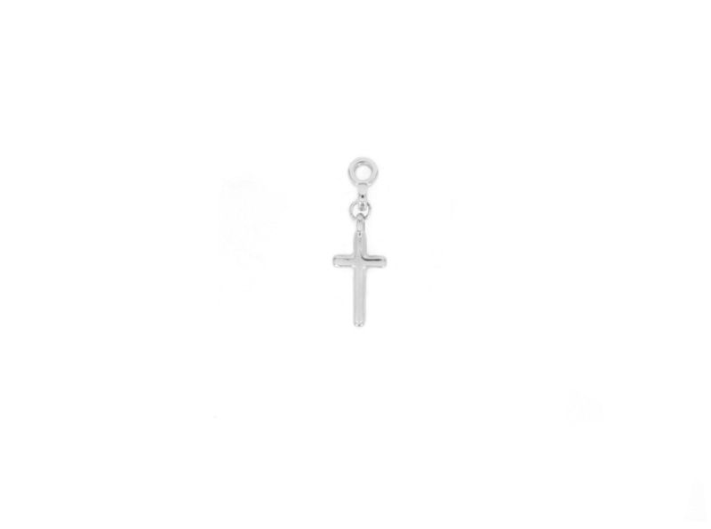 Earring Charm - Cross - silver/gold plated