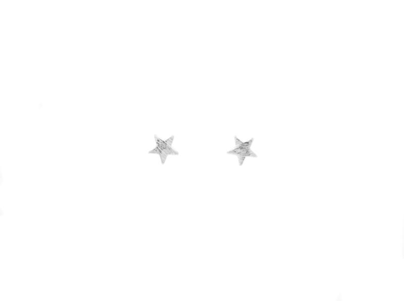 Ear studs - Star - silver
