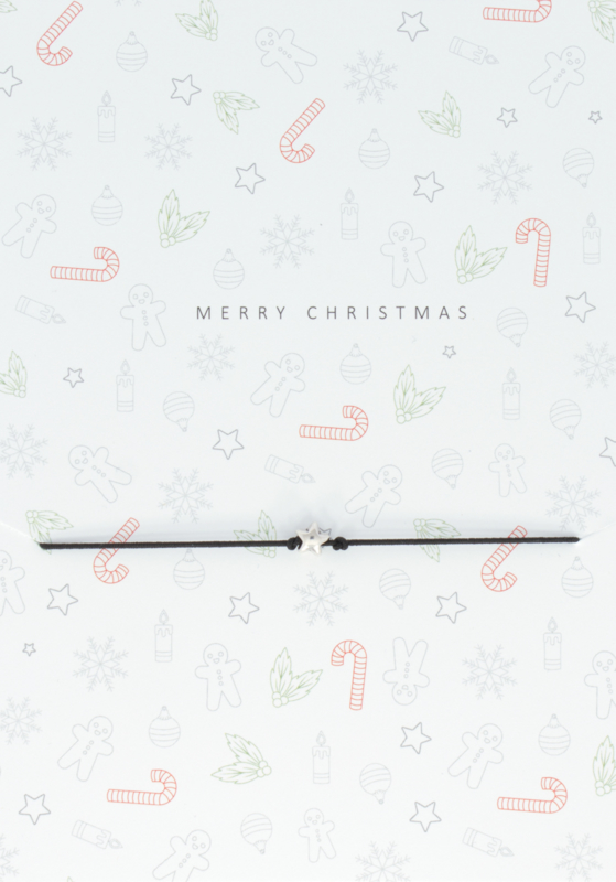 Wish Bracelet - Merry Christmas 1